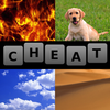 4 Pics 1 Word Cheat All Answers icon