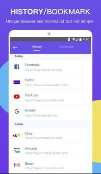 Power Browser captura de pantalla 1