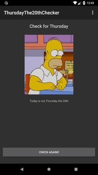 ThursdayThe20thChecker screenshot 3