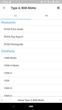 PCGS CoinFacts - Coin Images, Auctions & Prices screenshot 4