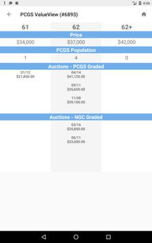 PCGS CoinFacts - Coin Images, Auctions & Prices screenshot 16
