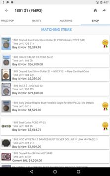 PCGS CoinFacts - Coin Images, Auctions & Prices screenshot 18