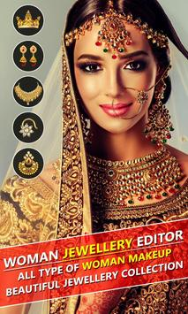 Jewellery Photo Editor for Woman poster
