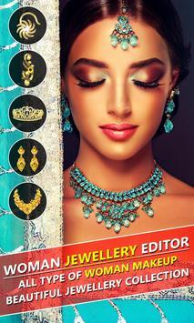 Jewellery Photo Editor for Woman screenshot 1