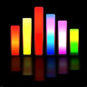 Penganalisis spektrum suara ikon