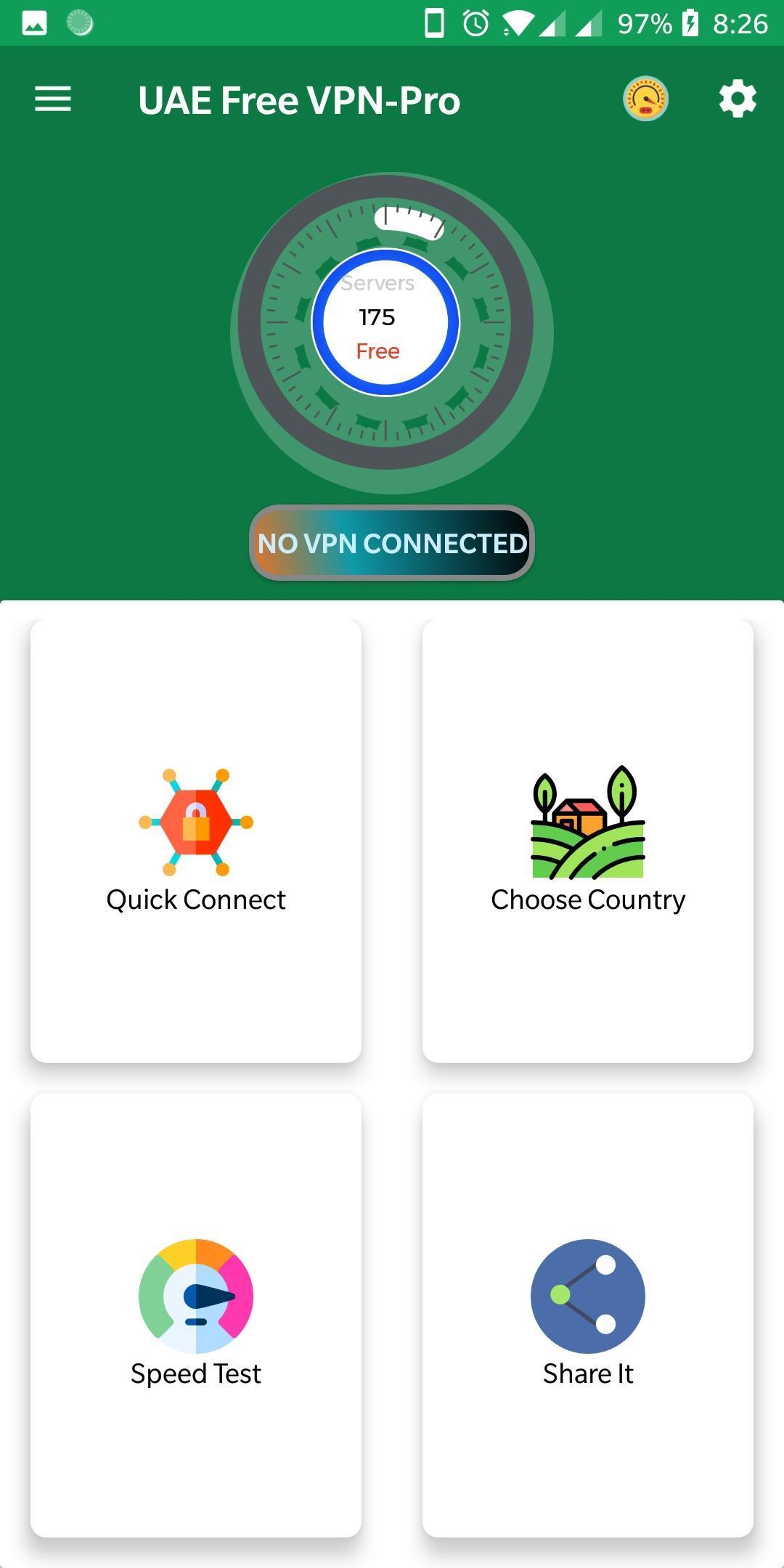 UAE Free VPN-Pro 1