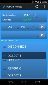 ircDDB remote Affiche