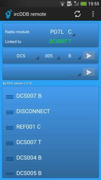 ircDDB remote capture d'écran 1