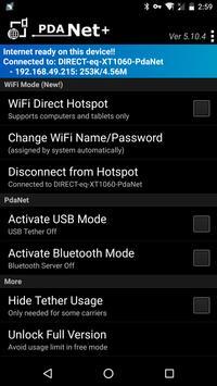 PdaNet+ screenshot 1