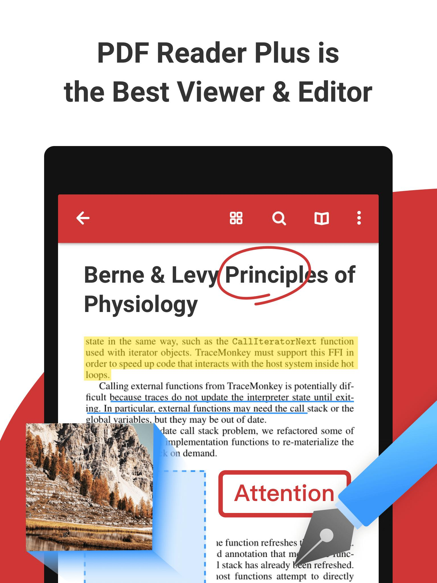 PDF Reader Plus for Android - APK Download