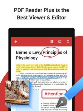PDF Reader Plus captura de pantalla 8