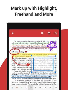 PDF Reader Plus captura de pantalla 10