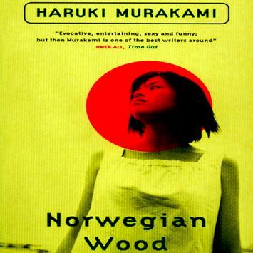 Norwegian Wood - Haruki Murakami poster