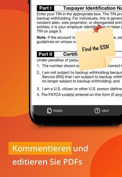 PDFfiller: Editieren und Unterschreiben Sie PDFs Screenshot 3