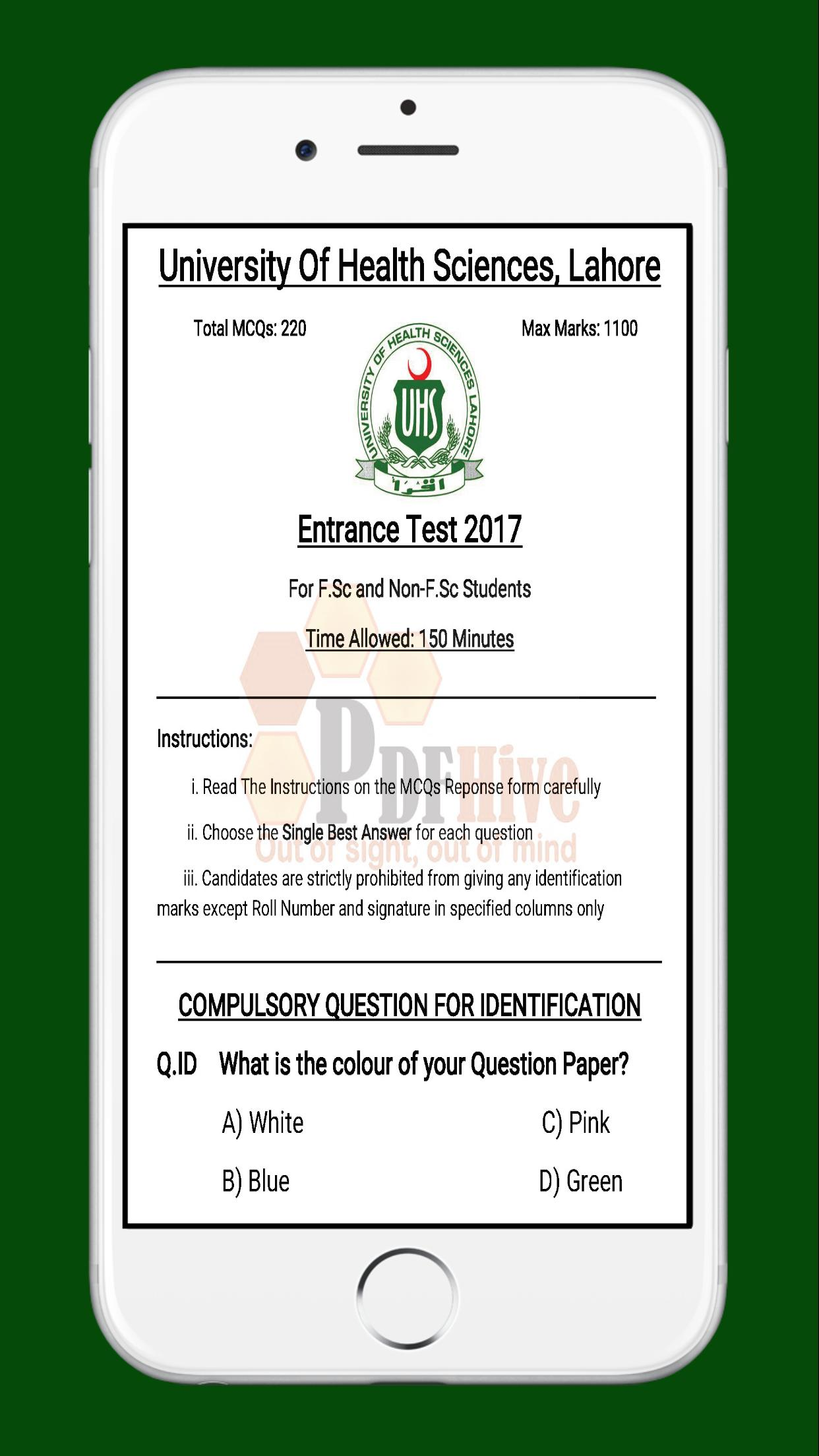 MDCAT Past Papers for Android - APK Download
