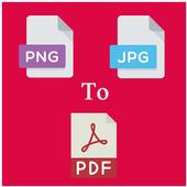 Image To PDF Converter JPG To PDF, PNG To PDF icon
