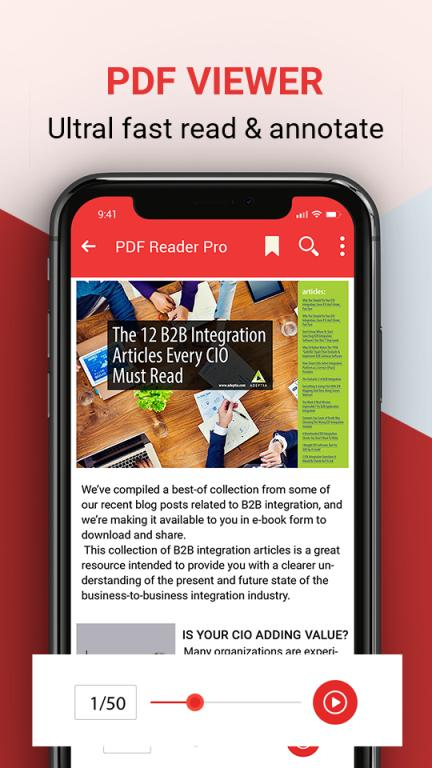 PDF Reader, PDF Viewer and Epub reader free for Android