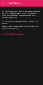 Know My Rights screenshot 2