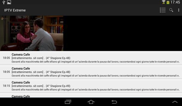 19 Schermata IPTV Extreme