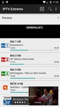 5 Schermata IPTV Extreme