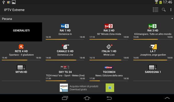 12 Schermata IPTV Extreme