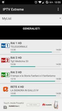 16 Schermata IPTV Extreme