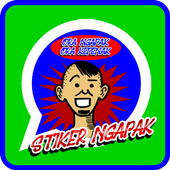 Stiker Ngapak WAStickerApps icon