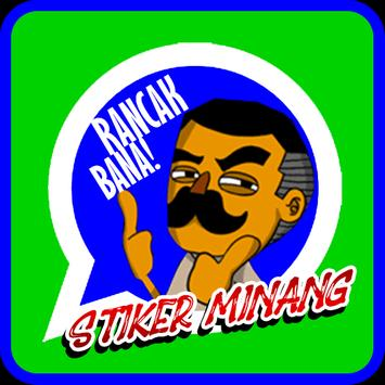 Stiker Orang Minang WAStickerApps screenshot 1