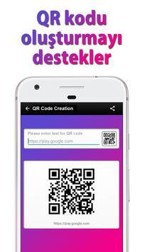 QR kod okuyucu & Barkod tarayıcı Ekran Görüntüsü 6