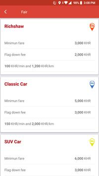 PeaceApp Taxi in Cambodia screenshot 2