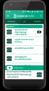 Peace Radio - Malayalam Islamic Radio captura de pantalla 1