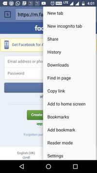 Indian Browser screenshot 2