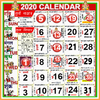 2020 Calendar icono