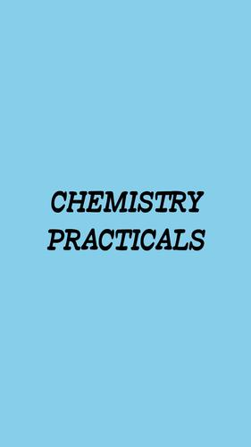 Chemistry Practicals For Android APK Download