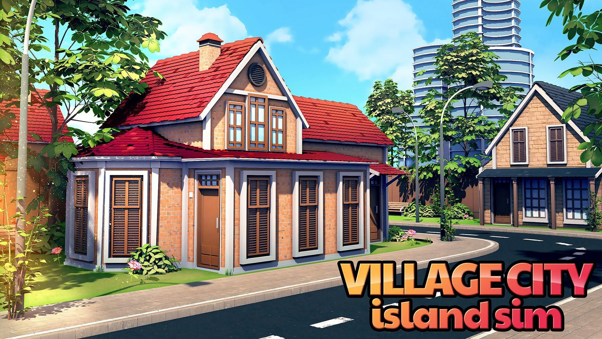 Mendownload game gratis Village City - Island Simulation v1.9.3