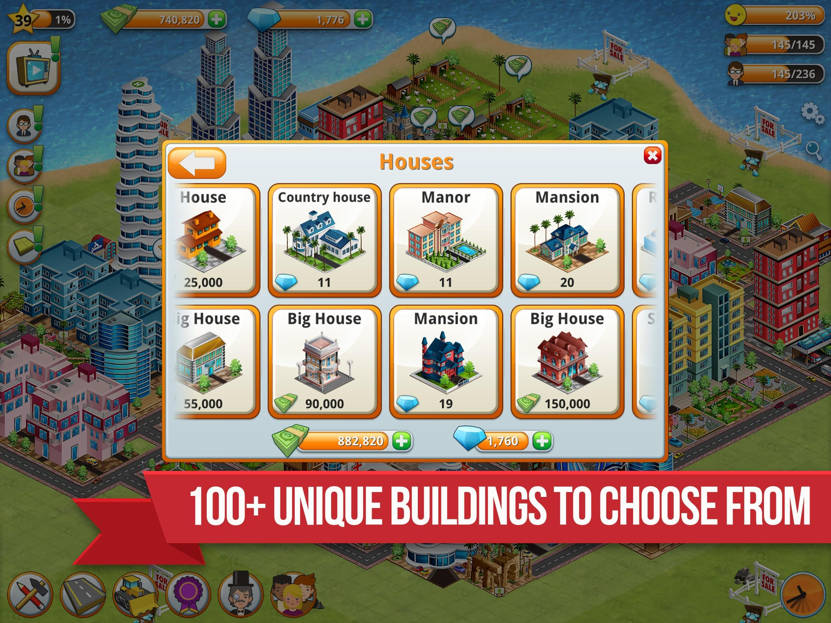 Mendonlot game Village City - Island Simulation v1.9.3