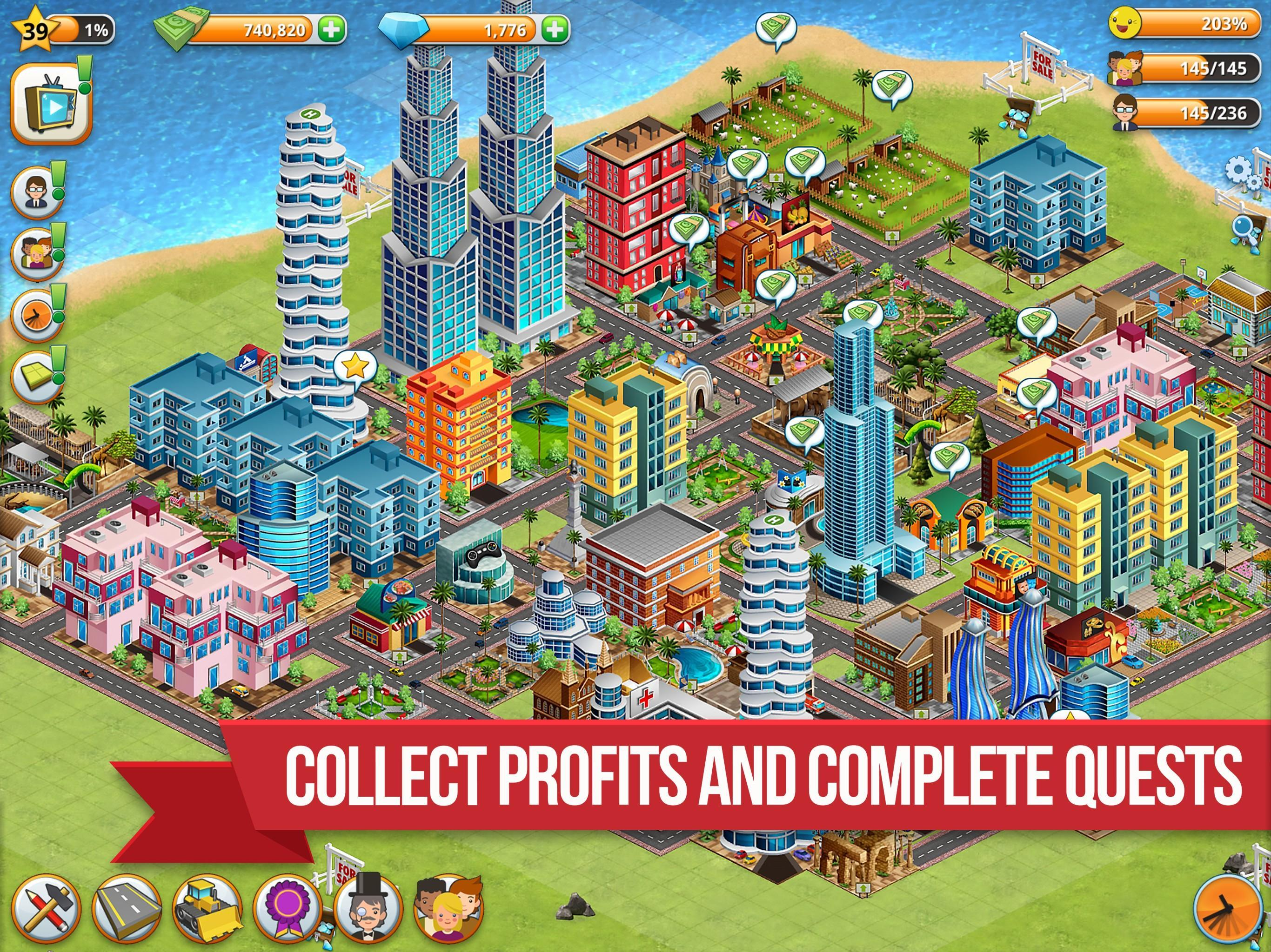 Lihat game gratis Village City - Island Simulation v1.9.3