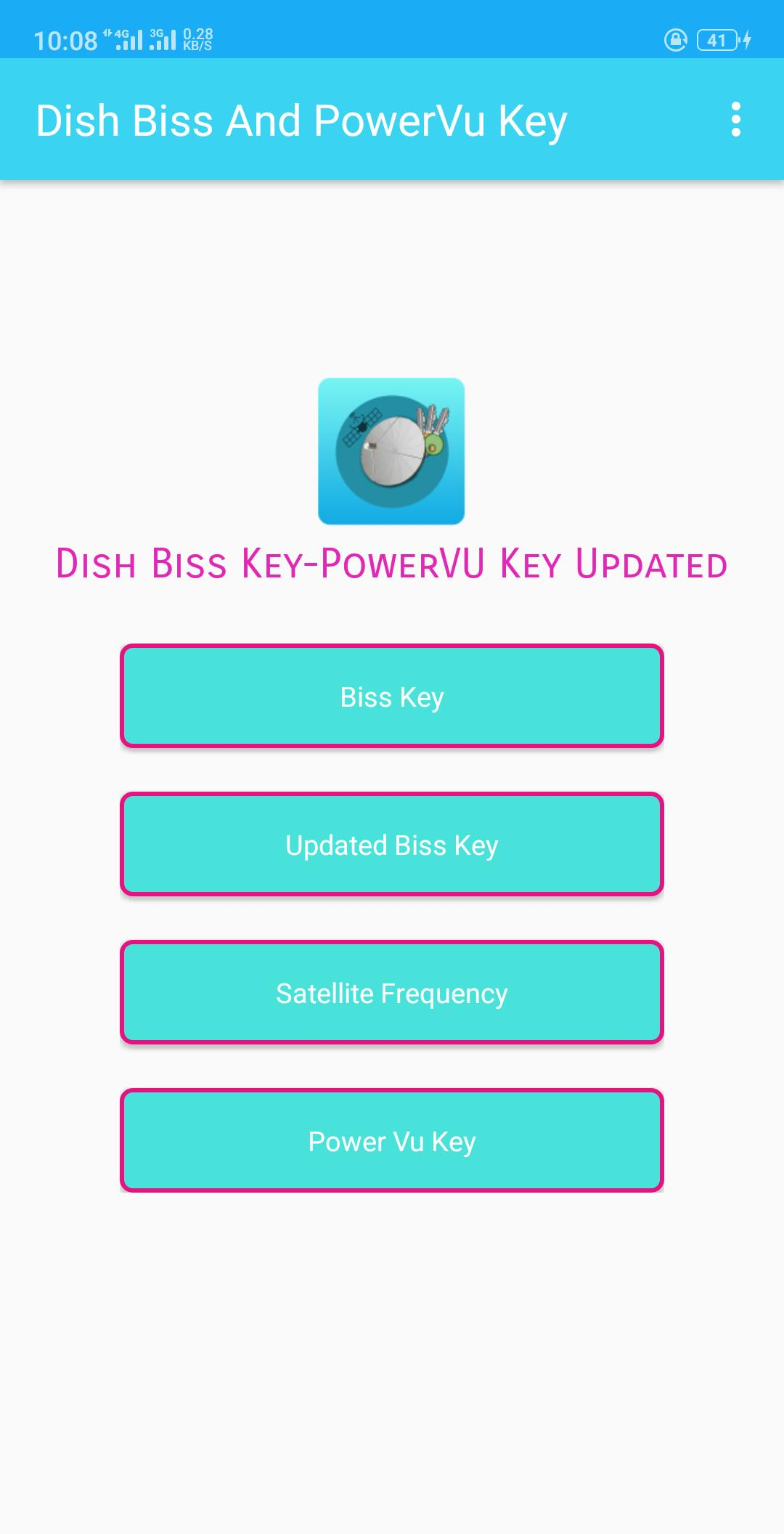 Dish Satellite Biss Key And PowerVu Key 2019 for Android