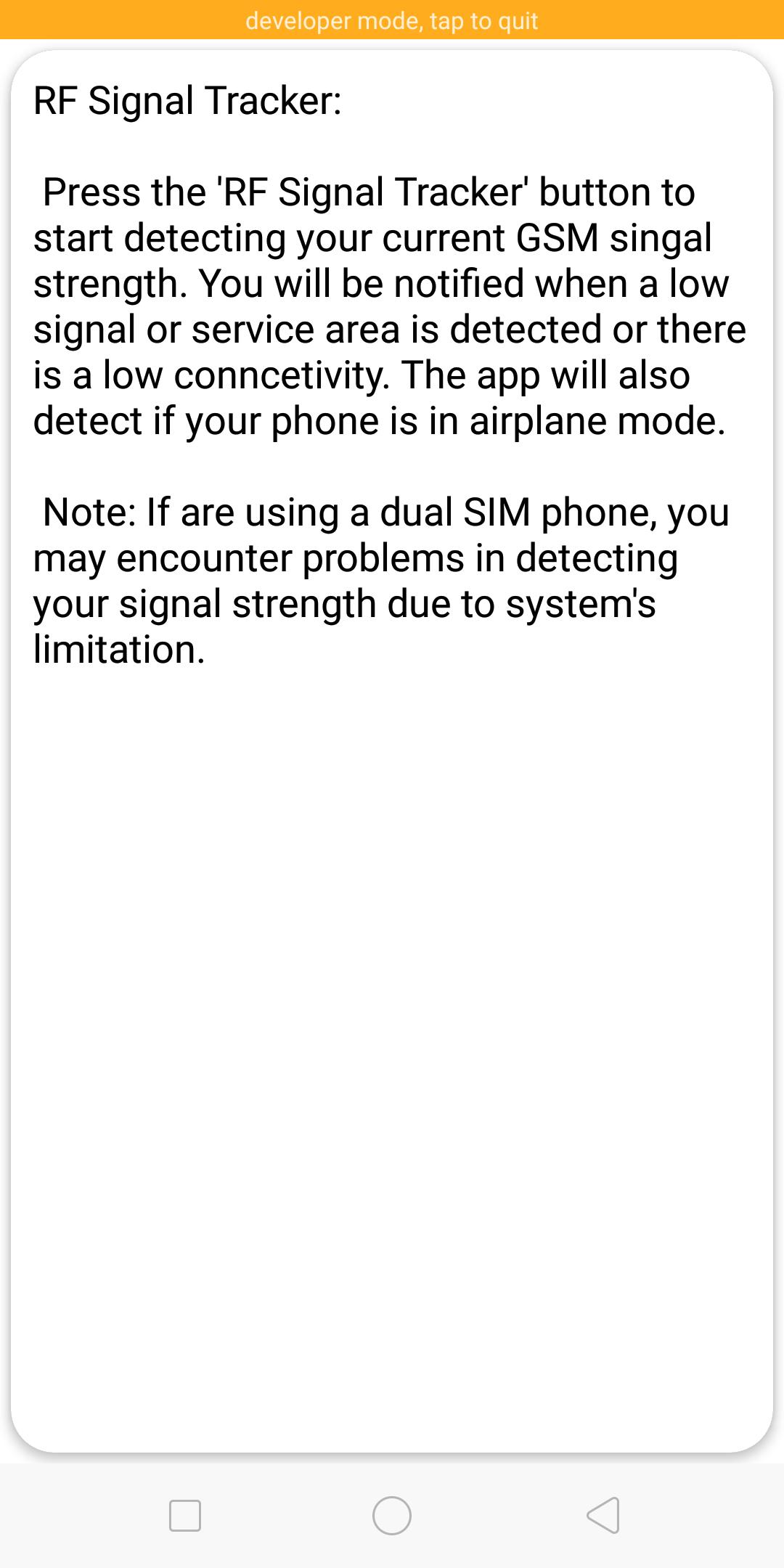 RF Signal Detector for Android - APK Download