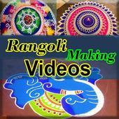 Rangoli Making Videos icon
