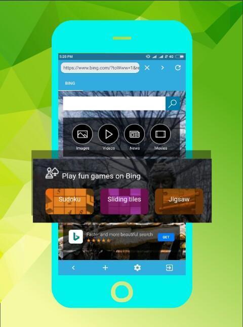 Aplikasi lengkap untuk android Pekob Browser