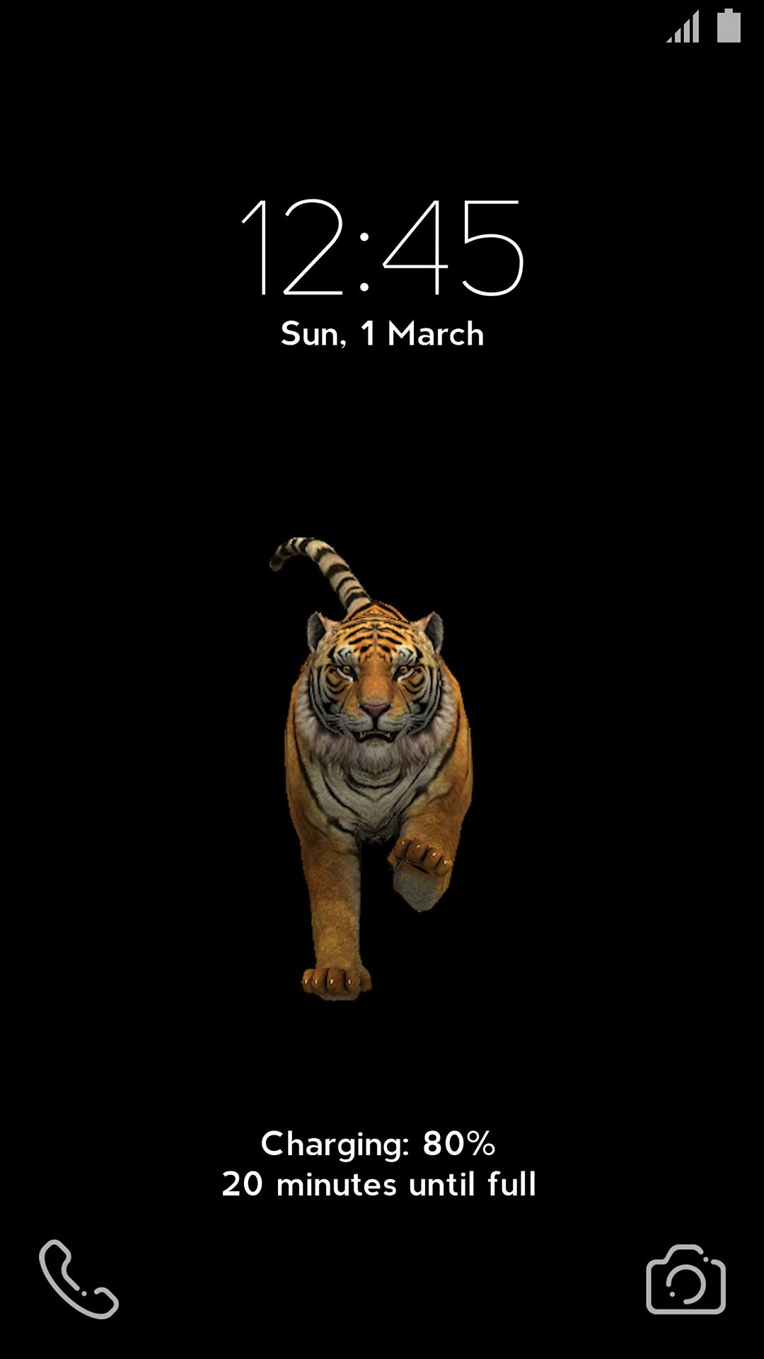 Angry Tiger 3d Live Video Wallpaper For Android Apk Download