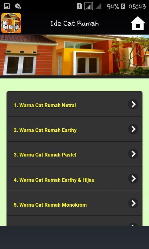 Warna Cat Rumah Netral  ide cat rumah for android apk download
