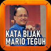 Kata Kata Bijak Mario Teguh icon