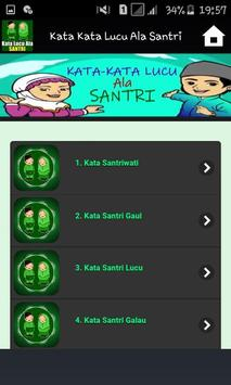 Kata Kata Lucu Ala Santri screenshot 2