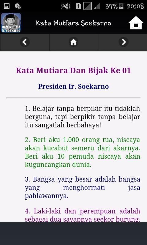Kata Mutiara Soekarno For Android Apk Download