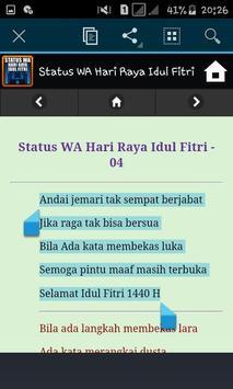 Status WA Hari Raya Idul Fitri screenshot 4