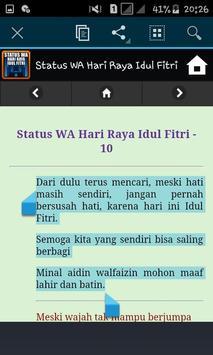 Status WA Hari Raya Idul Fitri screenshot 5