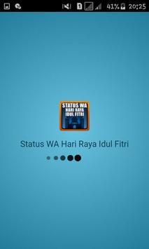 Status WA Hari Raya Idul Fitri poster