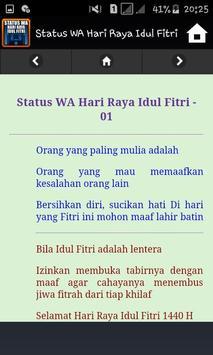 Status WA Hari Raya Idul Fitri screenshot 3